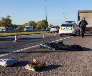 Смертельна ДТП на Прикарпатті: під колесами авто загинув чоловік