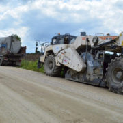 ПБС: Майже 50% дороги до села Вікторів відрегенеровано методом холодного ресайклінгу (фото)