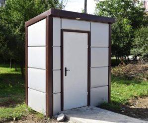 На Каскаді встановили модульну вбиральню для водіїв маршруток