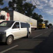 У Франківську мешканці Пасічної заблокували дорогу на Галич. ФОТО