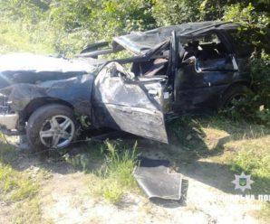 Смертельна ДТП на Прикарпатті: одна людина загинула, четверо – травмовані. ФОТО