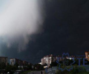 Тернополяни думали, що це наступив кінець світу (фото, відео)