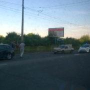 Вечірня ДТП: на Івасюка зіткнулись дві автівки (фото)