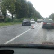На Калуському шосе двоє людей постраждали в ДТП (фотофакт)