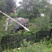 Стали відомі подробиці ДТП за участю автомобіля 10-ї окремої гірсько-штурмової бригади. ФОТО