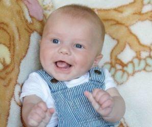 Малюк на третьому місяці життя сказав мамі: «Я люблю тебе» (відео)