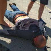 У центрі Франківська напали на пункт обміну валют (ФОТО)