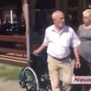 У Миколаєві сталася бійка через інвалідний візок для Тимошенко (ВІДЕО)