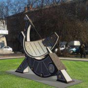 В мережі з'явився проект незвичного, велетенського годинника, котрий хочуть встановити в центрі Франківська