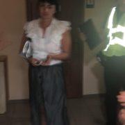 В поліції прокоментували поведінку п'яної слідчої, яка вчинила ДТП і показувала білизну. ФОТО/ВІДЕО