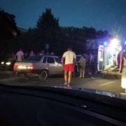 У Франківську збили людей, які перебігали вулицю в непризначеному місці (фотофакт)