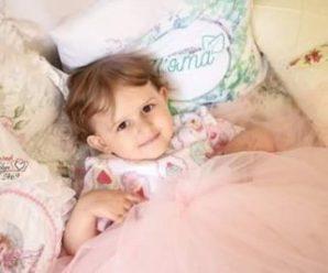 Трирічній Софійці з Франківська потрібна допомога, щоб подолати рак