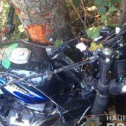Троє молодиків на шаленій швидкості врізались в дерево