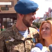 Відкриття вулиці та романтичне освідчення – як Франківськ святкував День незалежності (ВІДЕО)