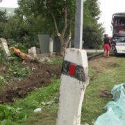 На Прикарпатті злетів з дороги автобус із майже півсотнею туристів (фото+відео)