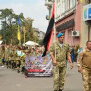 Четверта річниця: у Франківську вшанували загиблих бійців в Іловайському котлі (фото)