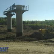 Як в Івано-Франківську відбувається зведення нового моста на Пасічну. ФОТО/ВІДЕО