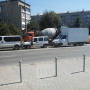 Потрійна ДТП в Івано-Франківську: рух транспорту ускладнено. ФОТО