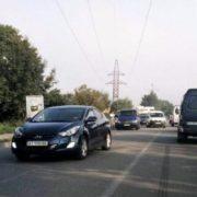 Аварія у Франківську: на Набережній зіткнулися два мікроавтобуси (фото)