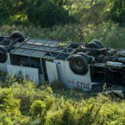 Авapія в Угорщині: poзбuвся автобус з українцями