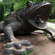 Міський голова Івано-Франківська хоче встановити пам`ятник жабі