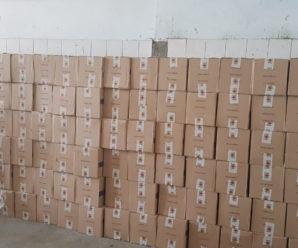 На кордоні затримали фуру, яка перевозила з Івано-Франківська до Туреччини 180 ящиків незаконних цигарок (фото+відео)