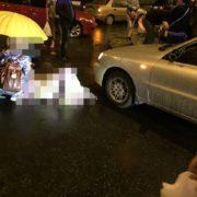 В Івано-Франківській області авто на «бляхах», розчавило пішохода, який лежав на дорозі