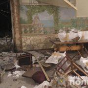 На Прикарпатті стався вибух в ресторані