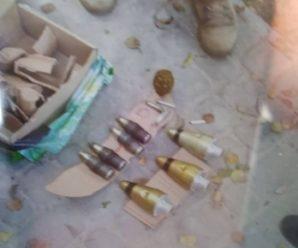 """Біля """"Княгинина"""" у Франківську знайшли запали до установки """"Град"""" та міни. ФОТО"""