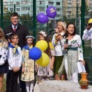 В Івано-Франківську відкрили новий спортивний майданчик