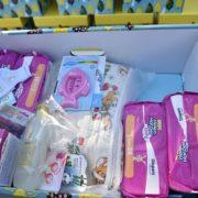 На Тернопільщину  вже прибули пакунки малюка