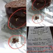 Цукерки із сюрпризом – у Франківську жінці продали солодощі з хробаками. ФОТО
