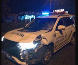 Автомобіль поліції на смерть збив пішохода, водій зник в невідомому напрямку