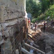 У Ланчині ремонтують аварійний міст