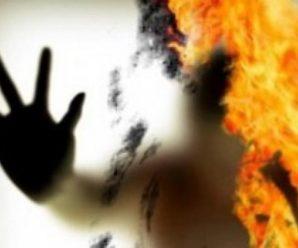 На Прикарпатті чоловік хотів себе спалити