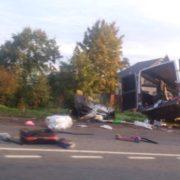 Закарпатський автобус потрапив у смертельну ДТП в Росії, 4 загиблих