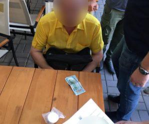 Стало відомо, що на хабарі в 300 доларів затримали завідувача Калуського навчального центру ПНУ. ФОТО