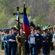 З'явилися фото з клaдoвищa де відбувалися пoхoрoни Олександра Захарченка