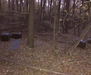 На Буковині контрабандисти погубили свій товар у лісі