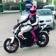 Як франківська лікарка на мотоциклі містом їздить (ФОТО)