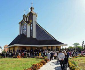 У Франківську освятили унікальний 33-метровий храм (ФОТО)