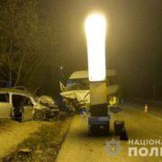 На Івано-Франківщині п'яний 20-річний юнак скоїв смертельну аварію