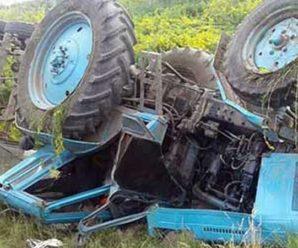 На Прикарпатті трактор впав у 20-метрову прірву – водій загинув