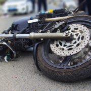 На Болехівщині мотоцикліст в'їхав в огорожу: Отримав численні травми