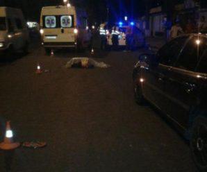 В лікарні помер пішохід, який напередодні потрапив під колеса автівки в Івано-Франківську. ФОТО 18+