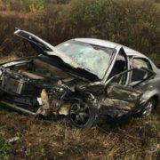 Між Ужгородом і Мукачевом зіткнулося 3 авто: усі подробиці ДТП (ФОТО)