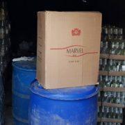 У франківському гаражі підробляли алкоголь і цигарки