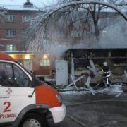 Чернівчанка ледь не згоріла у власному кафе (ФОТО)