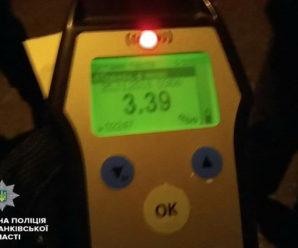 3,39 проміле: у Франківську патрульні спіймали п'яного, як чіп, водія вантажівки (фото)