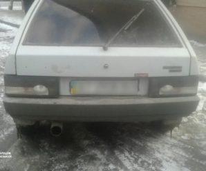 У Франківську п'яний водій намагався втекти від патрульних спочатку на автомобілі, а потім – ногами